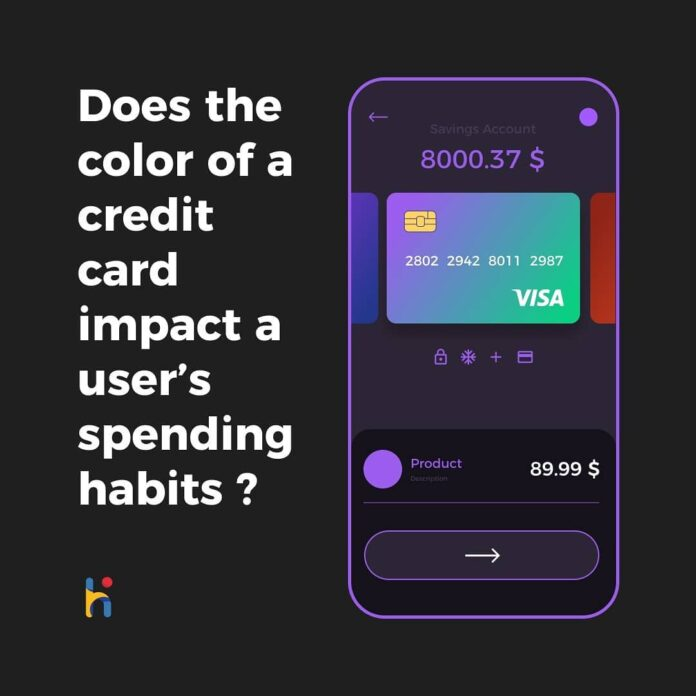 Credit Card Color Impact A User behavior