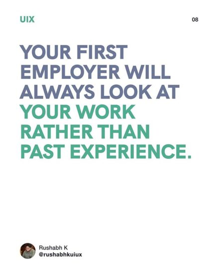 your first employer